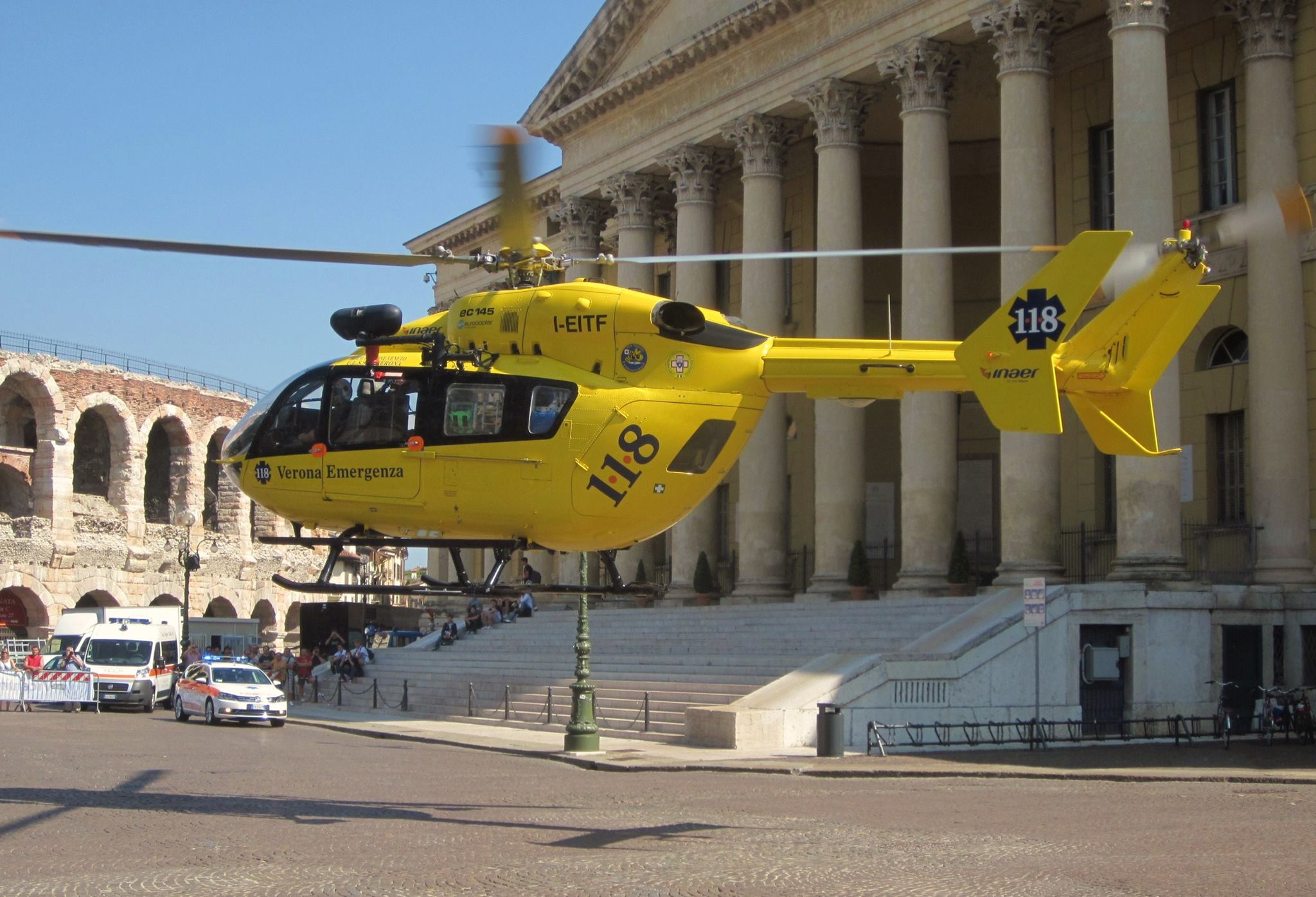 Elicottero 118 Verona : Elicottero verona emergenza croce bianca verona
