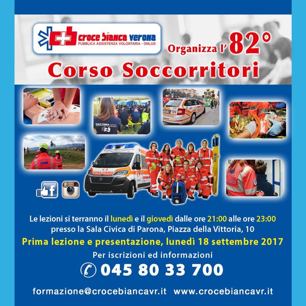 Corso Soccorritori settembre 2017