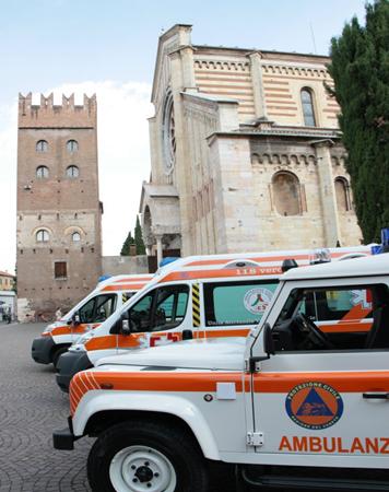 Croce Bianca Verona - mezzi