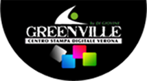Logo GREENVILLE grafica & stampa
